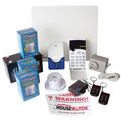 8 Zone Alarm Kit (Deluxe Kit)