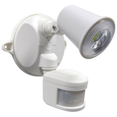 55-136 LED Spotlight 10W With Motion Sensor (White)