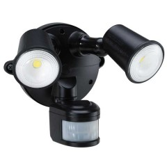 55-156 Led Spotlight 20W With Motion Sensor (Black)