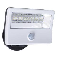 56-107 Led Floodlight 28W With Motion Sensor (White)