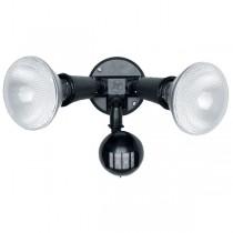 55-006 Twin Spot Sensor With 20W Cfl Lamp (Black)