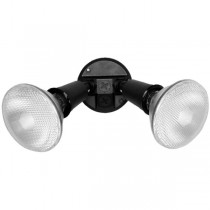 Twin Lamp Holder Pack with CFL Lamp (Black)