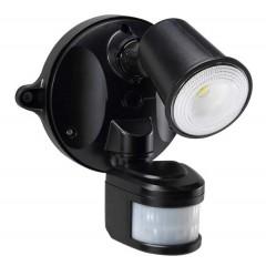 55-152 LED Spotlight 10W With Motion Sensor (Black)