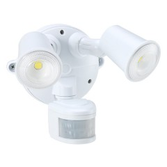 55-155 Led Spotlight 20W With Motion Sensor (White)