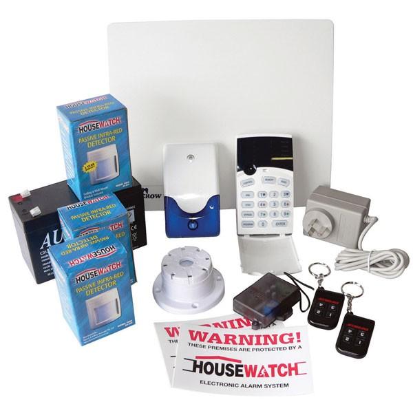 20-124 8 Zone Alarm Kit (Deluxe Kit)