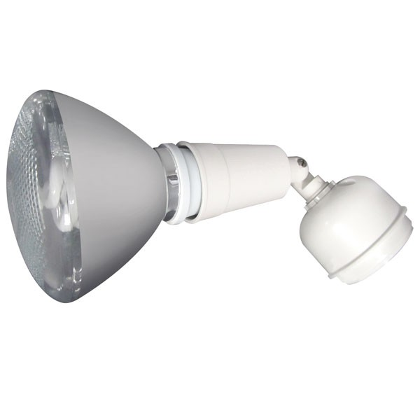 55-002 Single Lamp Holder Pack with CFL Lamp (White)