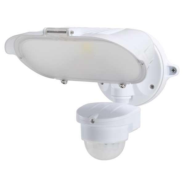 55-235 LED Floodlight 40W With Motion Sensor (White)